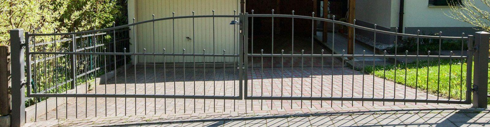 Gartentor Aus Metall  Eleo von Gartentor Verzinkt Nach Maß Bild