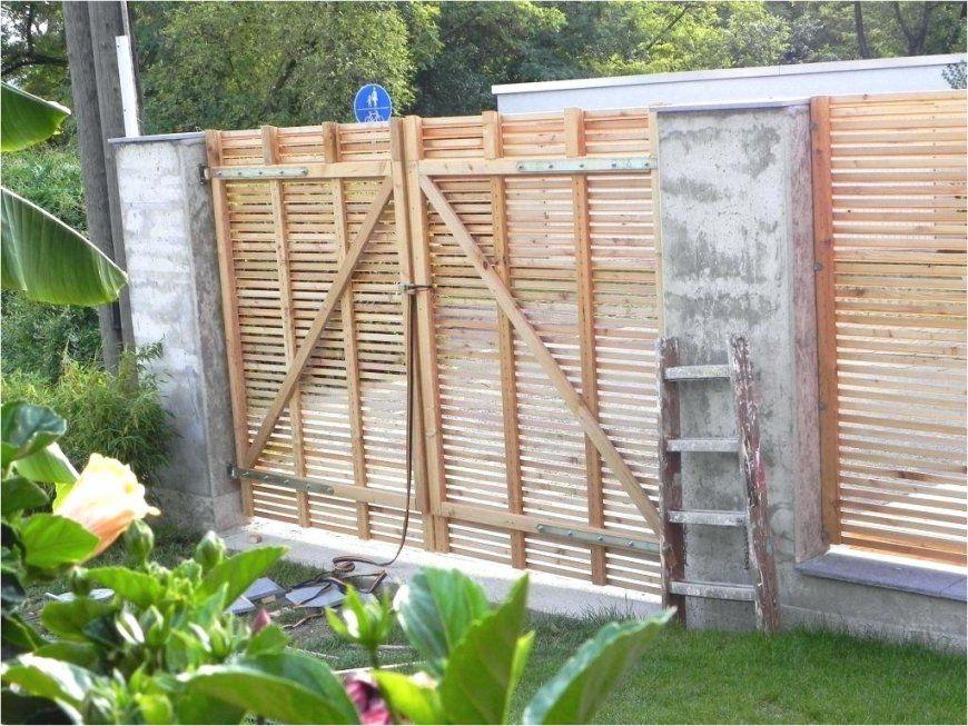 Gartentor Selber Bauen Hochbeet Holz Front Stahl Bauanleitung Metall von Gartentor Aus Holz Selber Bauen Bild