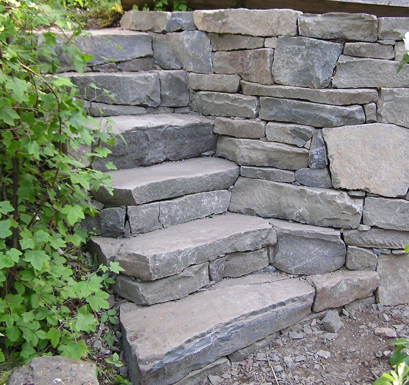 Gartentreppe Selber Bauen – 35 Inspirationen  Steintreppen Gärten von Außentreppen Stein Selber Bauen Photo