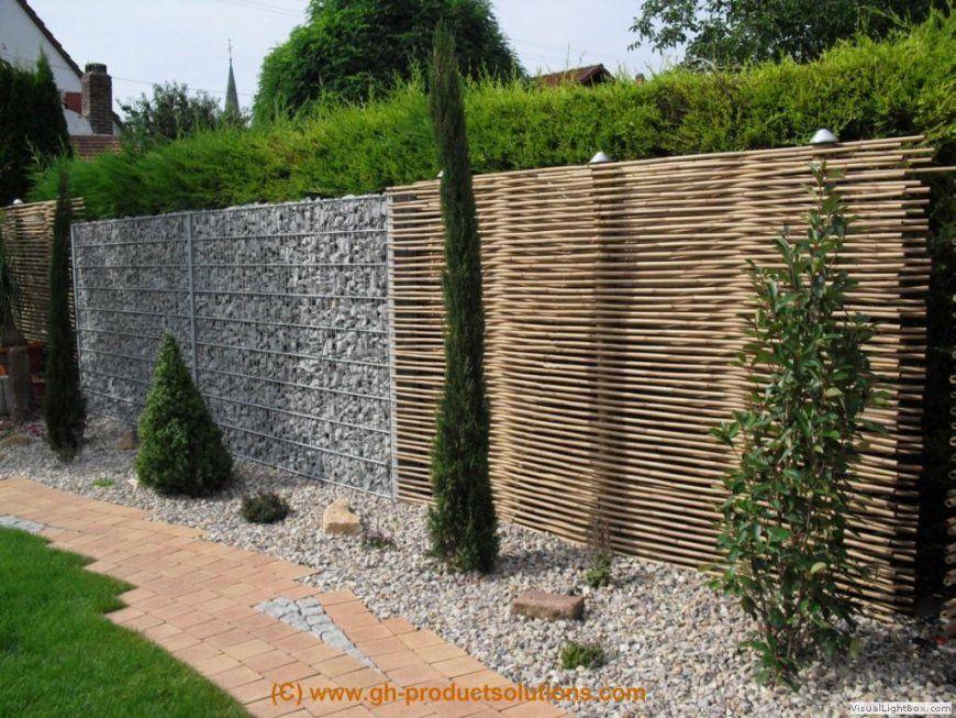 Gartenzaun Holz Günstig  Die Schönsten Einrichtungsideen von Origineller Sichtschutz Selber Machen Photo