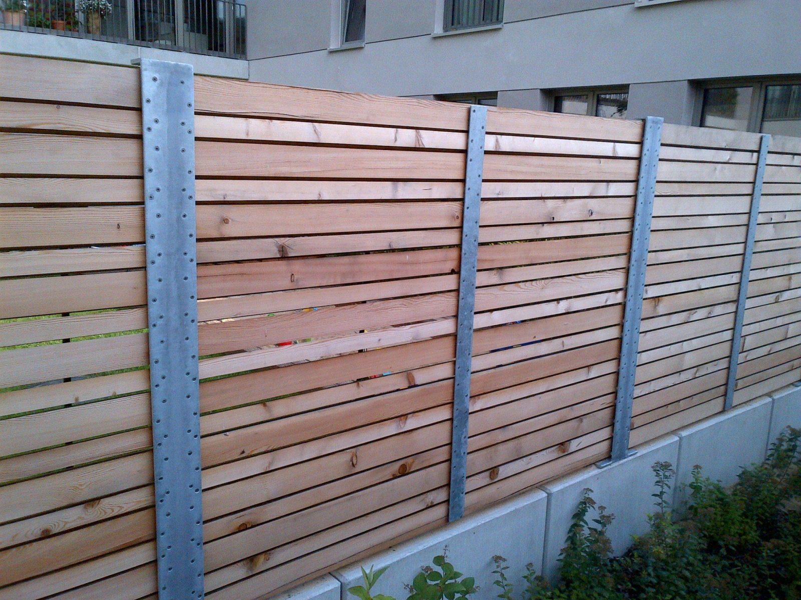 Gartenzaun Holz Selber Bauen Sichtschutz Aus Holz Selber Bauen Schön von Sichtschutzzaun Holz Selber Bauen Bild