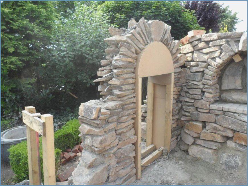 Gartenzaun Holz Selber Bauen Stein von Sichtschutz Aus Stein Selber Bauen Photo