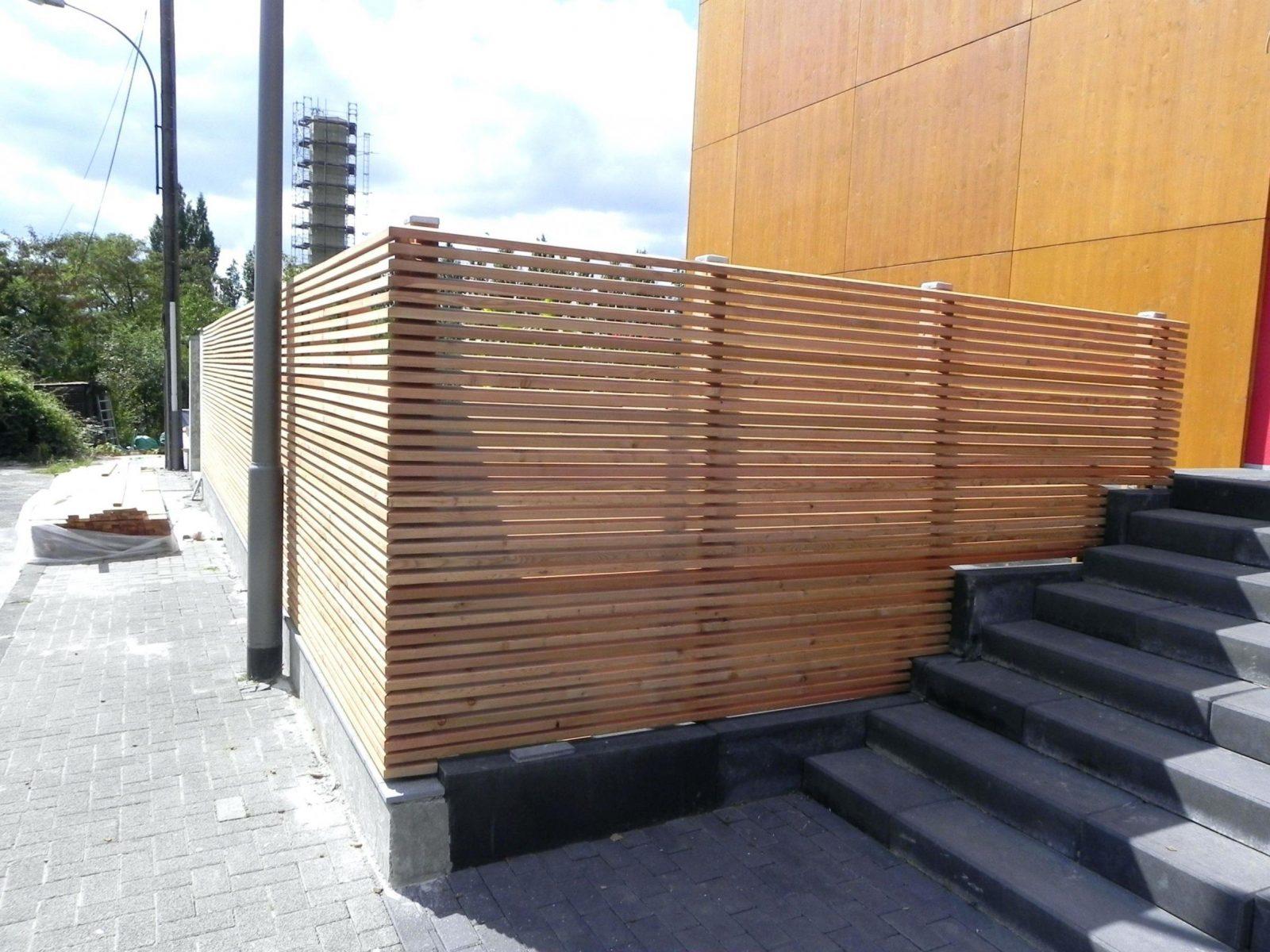 Gartenzaun Selber Machen Gallery Of Zaun Aus Holz Fundament von Sichtschutzzaun Holz Selber Bauen Photo