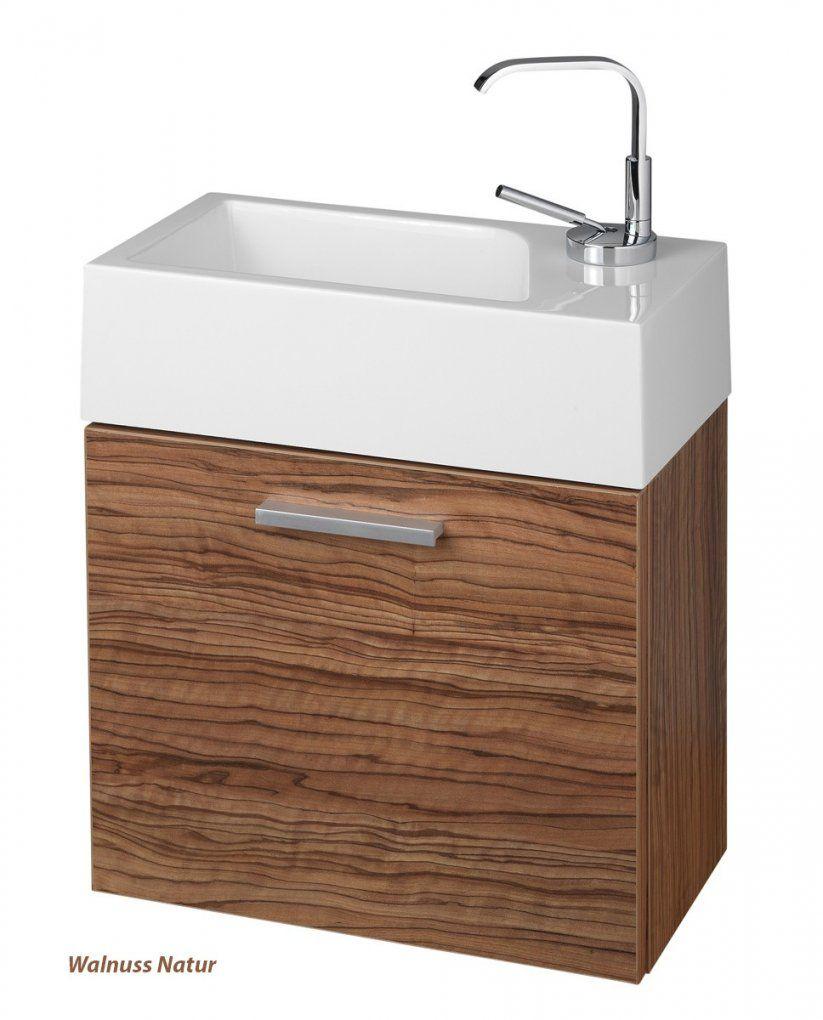 Gästewc Badmöbel Waschbecken Mit Unterschrank Und Ablagefächer Badmöbel von Wc Waschtische Mit Unterschrank Photo