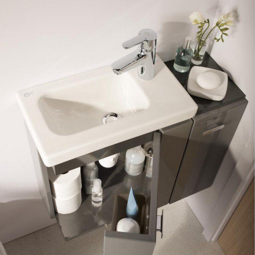 Gästewc  Tolle Ideen Zur Gestaltung Der Gästetoilette  Reuter von Waschbecken Gäste Wc Ideen Bild