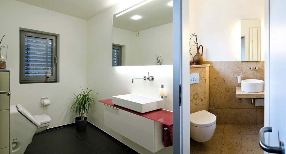 waschbecken g ste wc ideen haus design ideen. Black Bedroom Furniture Sets. Home Design Ideas