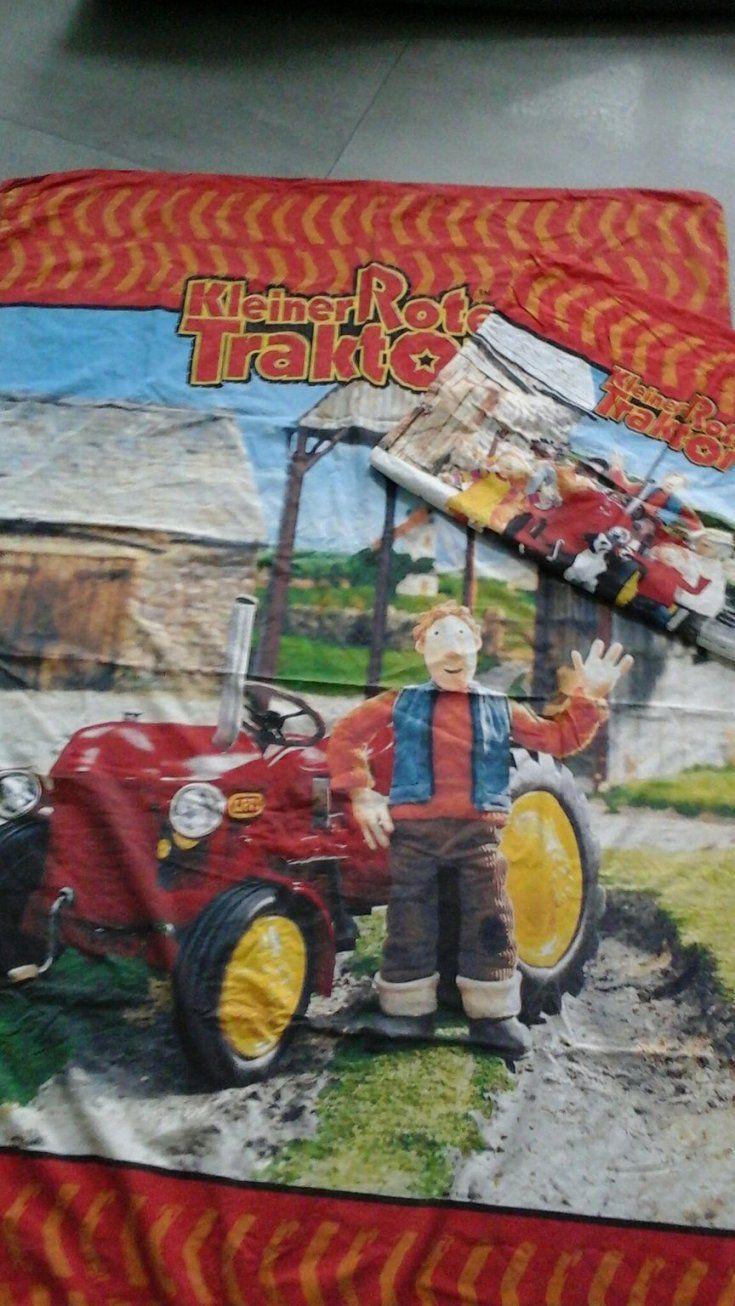 Gebraucht Bettwäsche ❤Kleiner Roter Traktor ❤ In 67294 Morschheim von Kleiner Roter Traktor Bettwäsche Photo