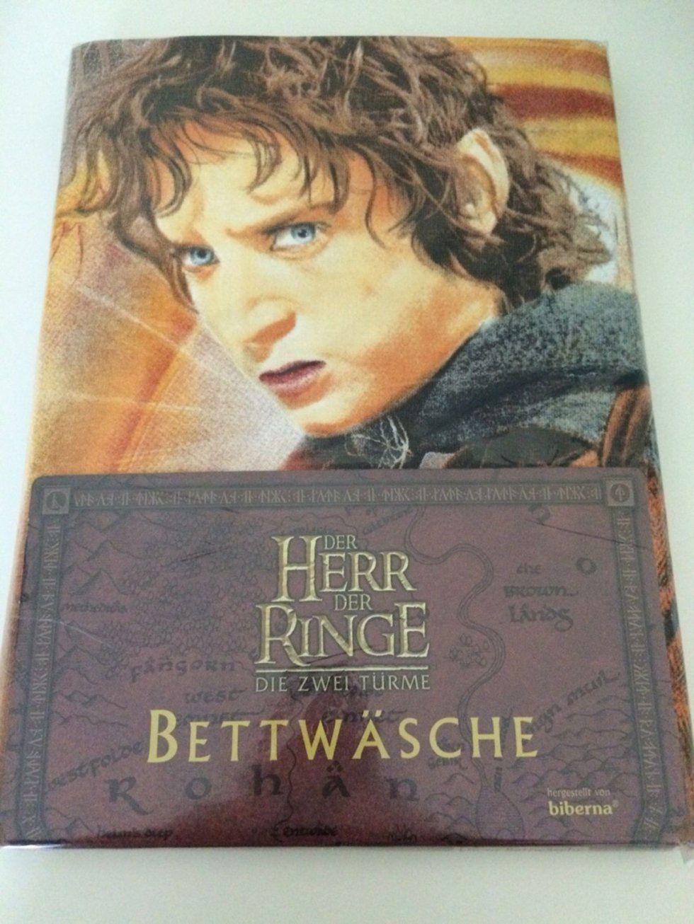 Gebraucht Bettwäsche Herr Der Ringe (Neu & Ovp) In 42719 Solingen von Herr Der Ringe Bettwäsche Bild