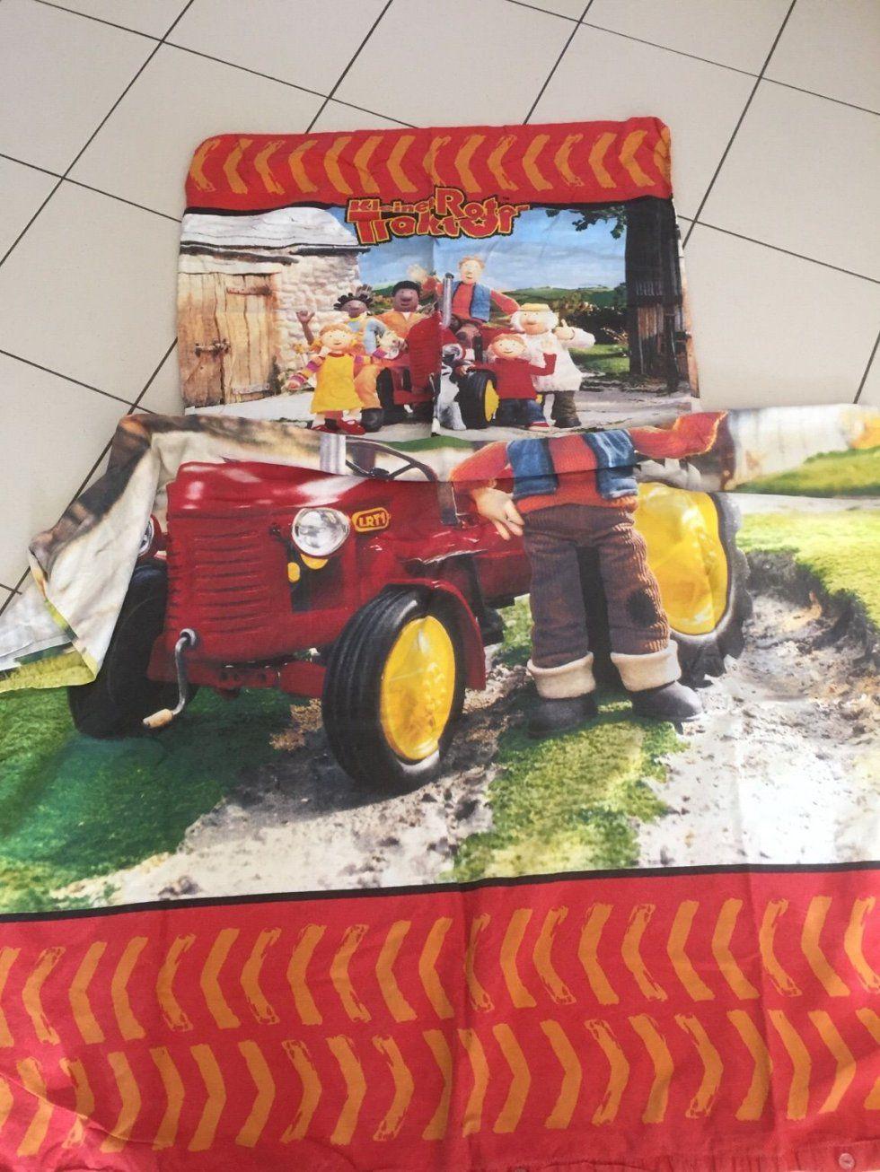 Gebraucht Bettwäsche Kleiner Roter Traktor In 68307 Mannheim Um von Kleiner Roter Traktor Bettwäsche Photo