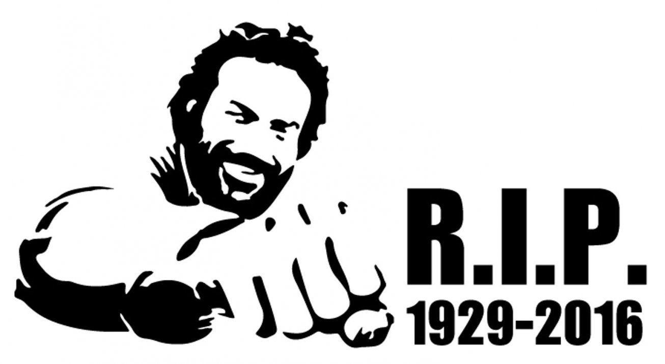 Gebraucht Bud Spencer Sticker Aufkleber Fürs Auto Wand In 8280 von Bud Spencer Schwarz Weiß Bild