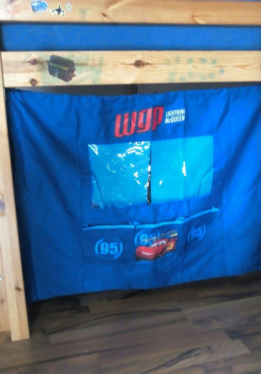 Gebraucht Cars Hochbett Vorhang Set In 91052 Erlangen Um € 1100 von Cars Hochbett Vorhang Set Bild