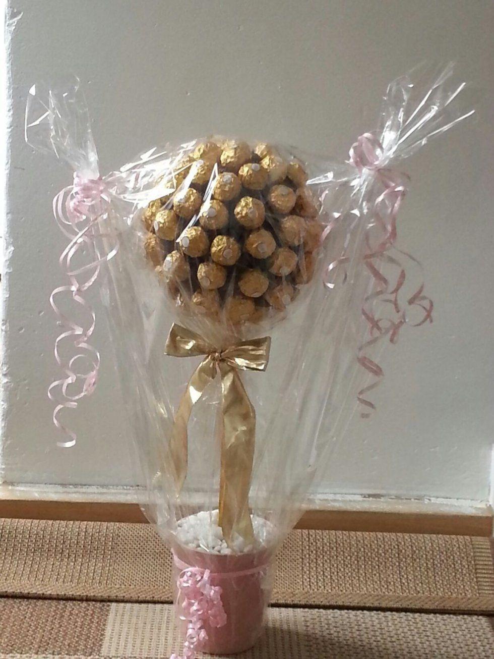 Gebraucht Ferrero Rocher Baum In 45772 Marl Um € 6000 – Shpock von Rocher Baum Selber Machen Photo