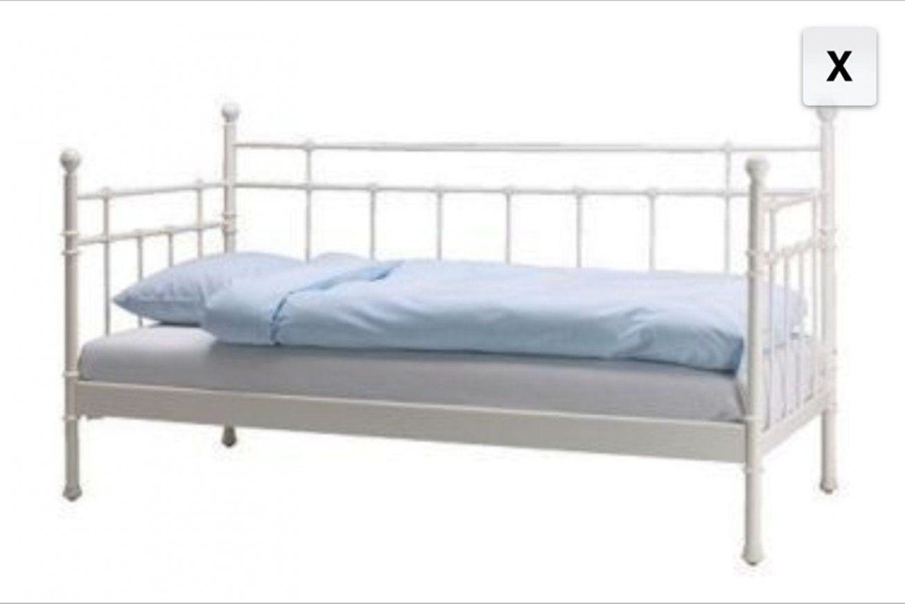 Gebraucht Ikea Bett Tromsnes Weiß In 67550 Worms Um € 5000 – Shpock von Ikea Metallbett Weiß 90X200 Photo