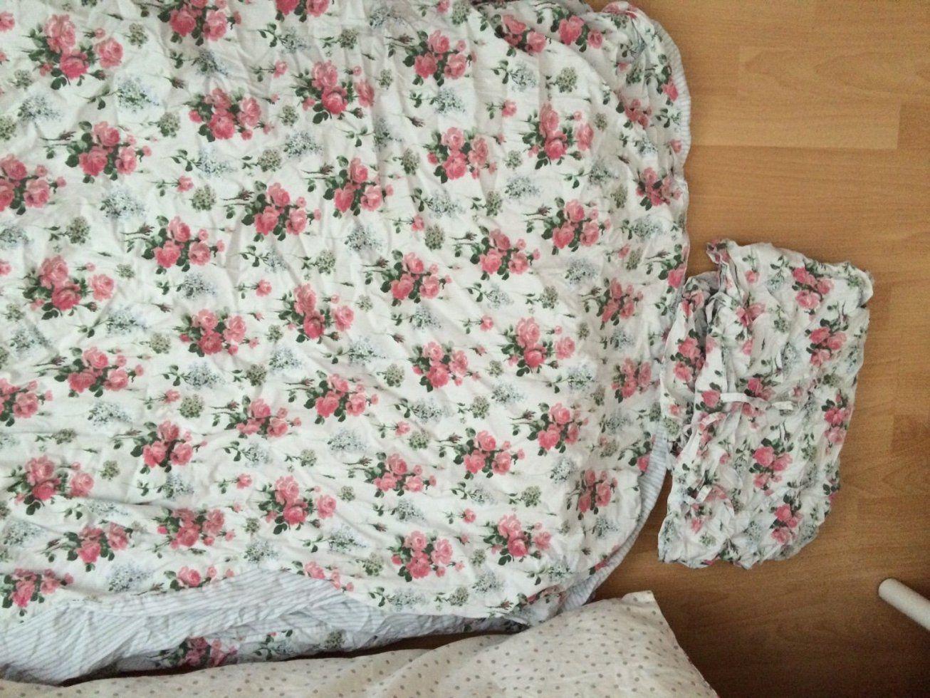Gebraucht Ikea Bettwäsche Romantik Rosen Rosali 240X220 In 52066 von Bettwäsche Ikea Rosen Bild