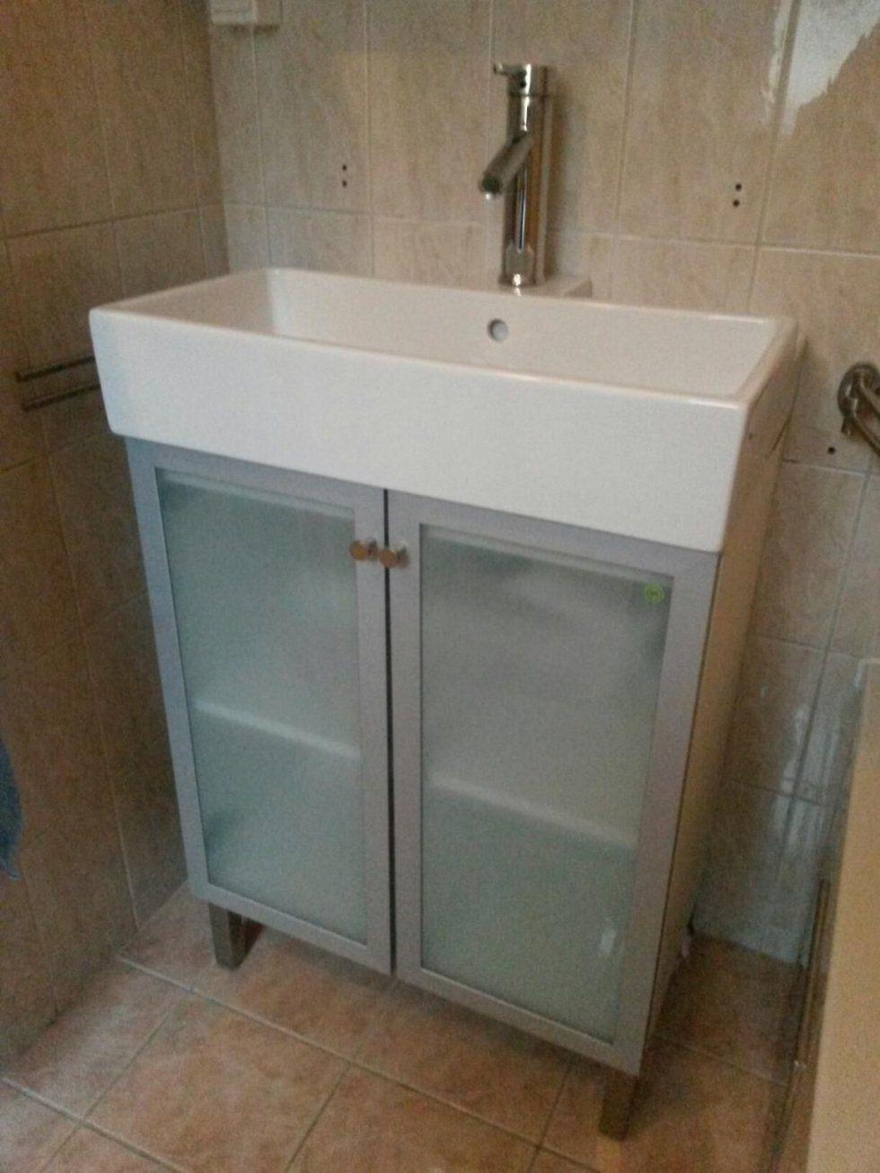 Gebraucht Ikea Waschbecken + Unterschrank In 1040 Wien Um € 5000 von Waschbecken Mit Unterschrank Ikea Bild