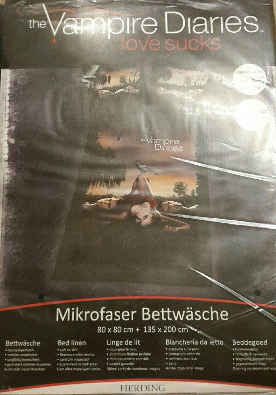 Gebraucht Neu The Vampire Diariesbettwäsche In 50127 Bergheim Um von The Vampire Diaries Bettwäsche Bild