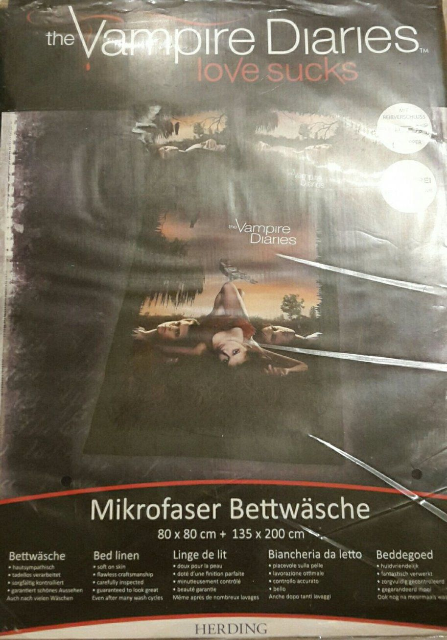 Gebraucht Neu The Vampire Diariesbettwäsche In 50127 Bergheim Um von Vampire Diaries Bettwäsche Bild