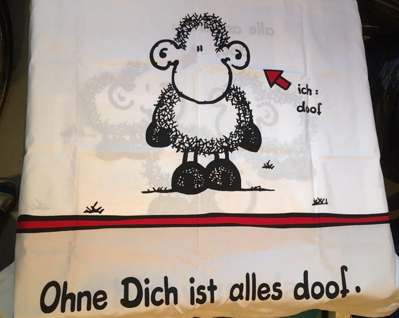 """Gebraucht """"ohne Dich Ist Alles Doof"""" Bettwäsche In 51103 Köln Um von Bettwäsche Ohne Dich Ist Alles Doof Bild"""