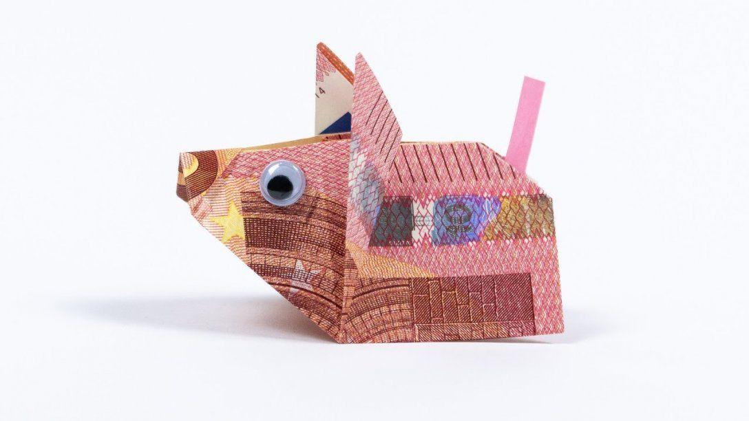 Geld Falten Maus Geldgeschenk Zur Hochzeit Youtube Von Maus Aus