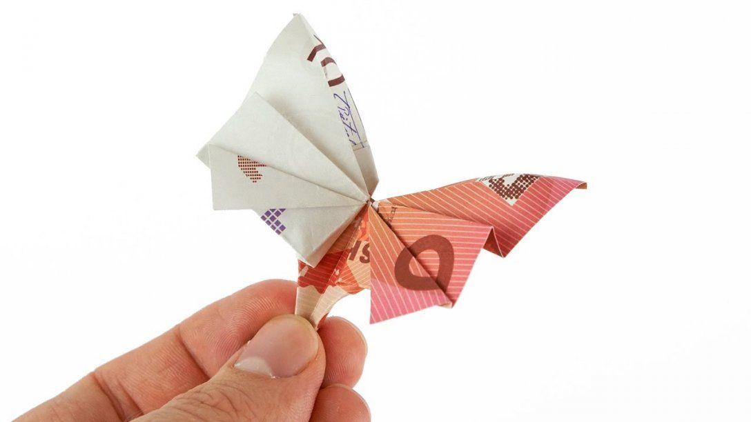 Geldscheine Falten Schmetterling Geldgeschenke Hochzeit Youtube Von