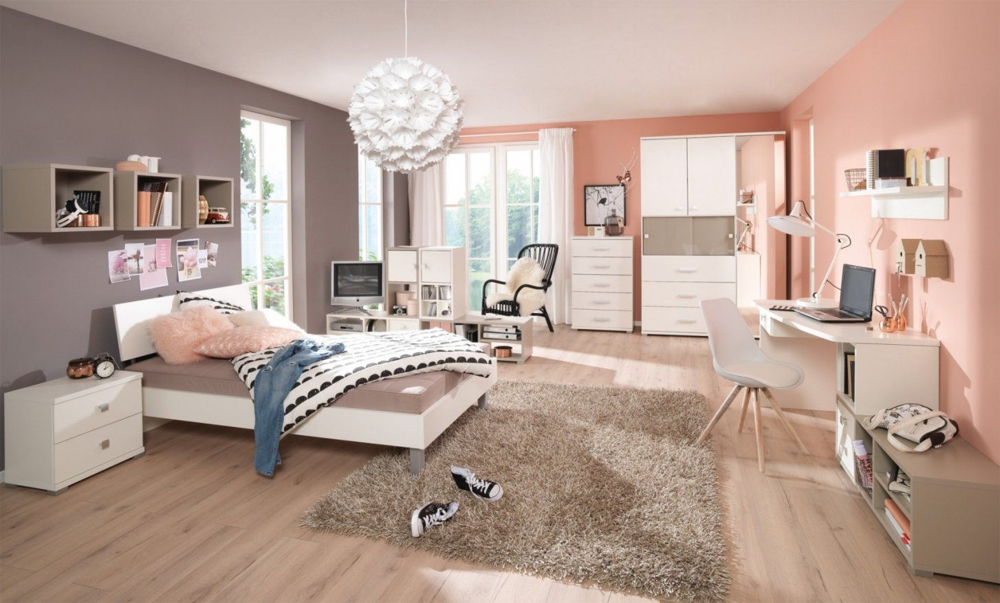 Gemütlich Jugendzimmer Mädchen Ikea Gestalten Aus Ideen Avec von Ideen Für Jugendzimmer Mädchen Bild