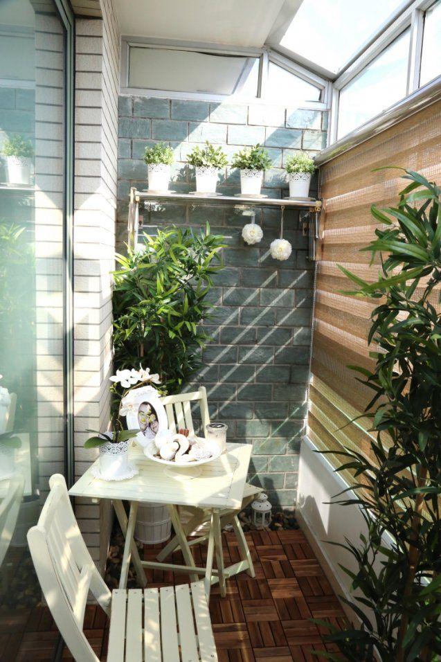 Gemütlichen Balkon Gestalten  35 Tolle Ideen Und Tipps von Balkon Ideen Kleiner Balkon Bild