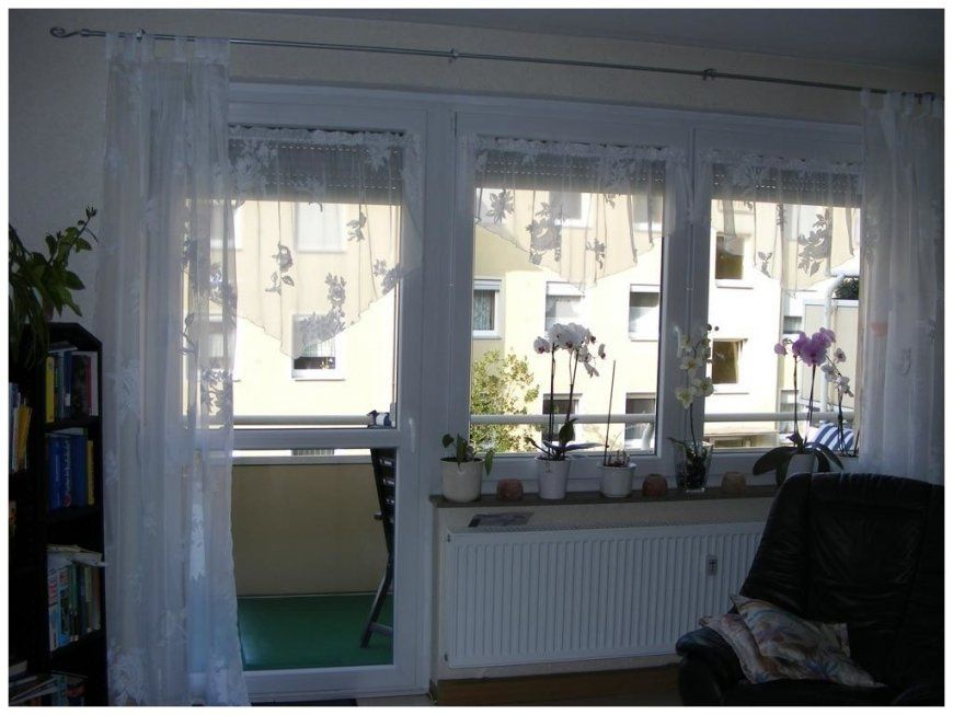 Genial Balkontür Mit Fenster Sammlung Von Fenster Stil 461907 von Gardinen Für Balkontür Und Fenster Photo