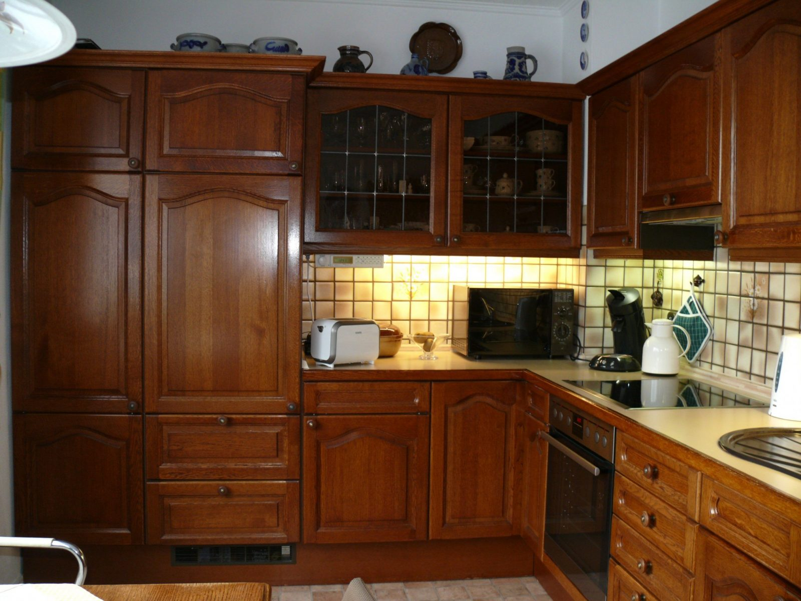 Genial Kuche Eiche Rustikal Modernisieren Familienzimmer Bild A von Küche Eiche Rustikal Modernisieren Bild