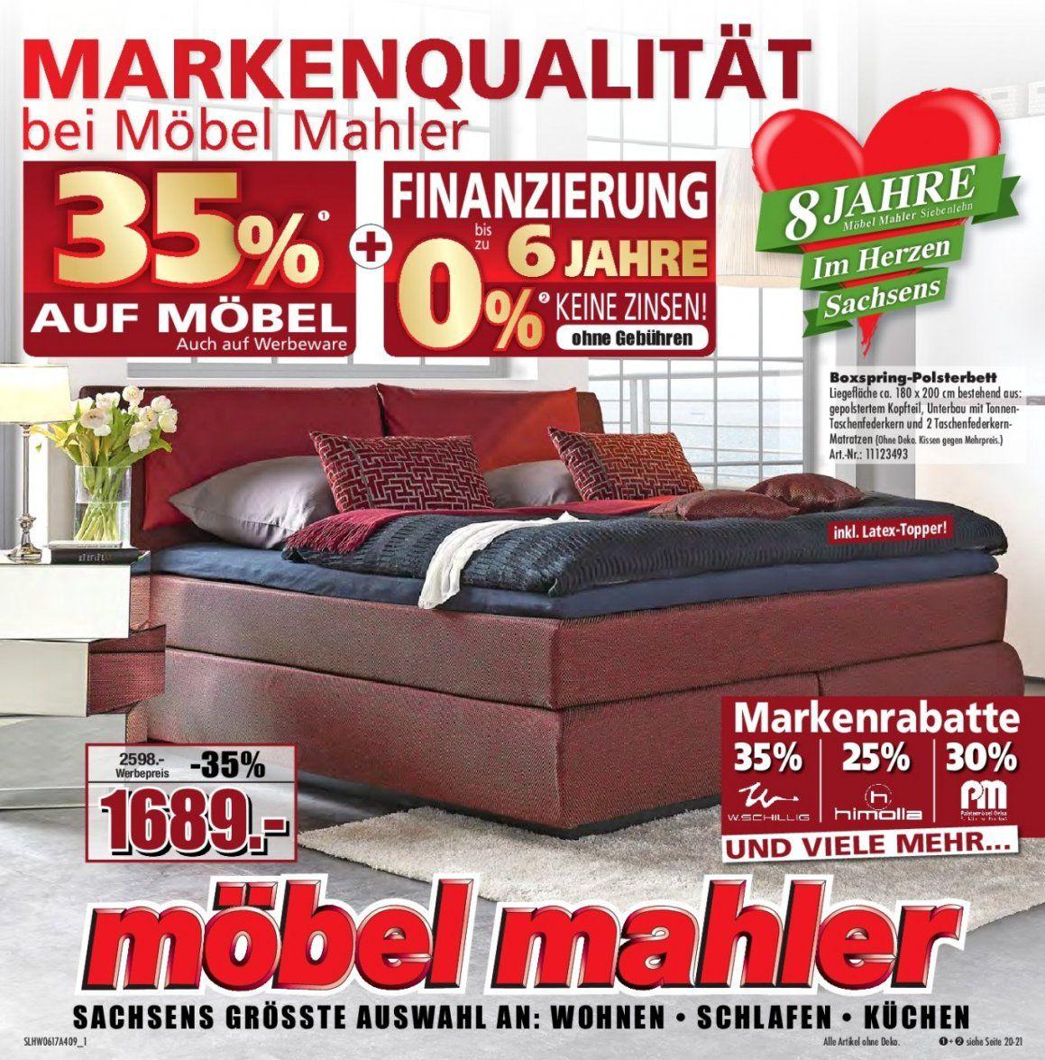 Genial Möbel Mahler Küchenplaner Zum Wohnwert Boxspringbett von Möbel Mahler Boxspringbett Bild