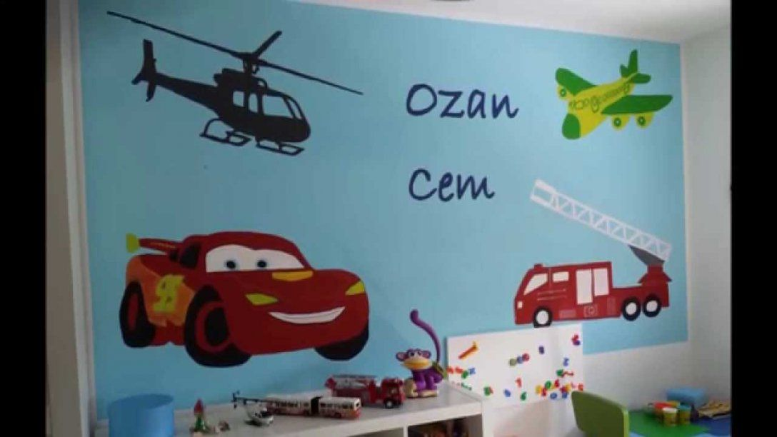 Geniale Inspiration Wandgestaltung Kinderzimmer Selber Machen Und von Wandgestaltung Kinderzimmer Selber Machen Bild
