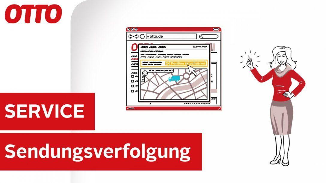Geographische Sendungsverfolgung  Lieferung & Rücksendung  Service von Otto Versand Telefonnummer Zum Bestellen Bild