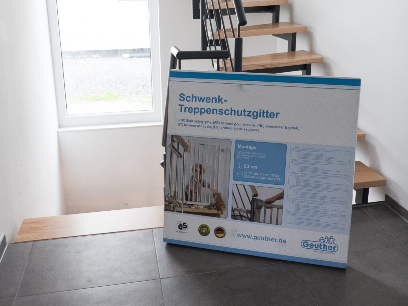 Geuther Treppenschutzgitter – Ein Haus Für Den Zwerg von Treppenschutzgitter Zum Klemmen Ikea Photo