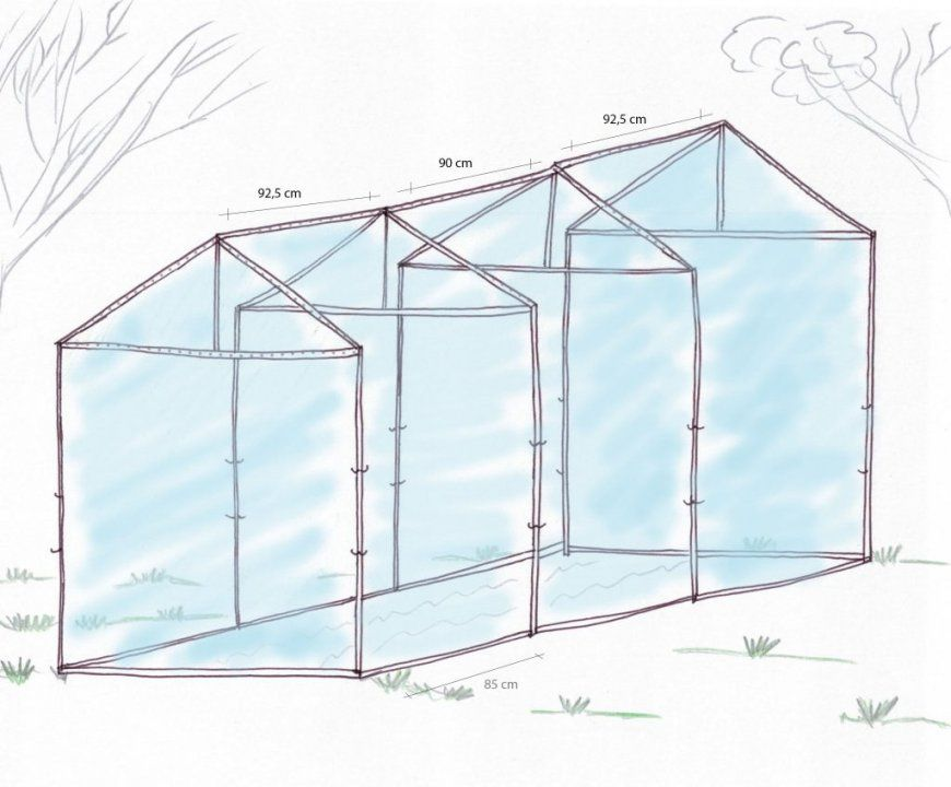 Gewächshaus (Selber) Bauen – So Geht's von Gewächshaus Selber Bauen Aluprofile Bild
