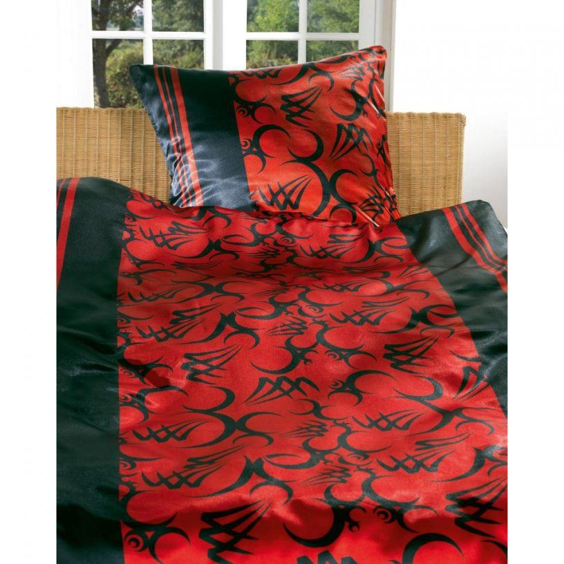Glanzsatinbettwäsche Konrad (135 X 200 Cm)  Dänisches Bettenlager von Hochglanz Satin Bettwäsche Bild