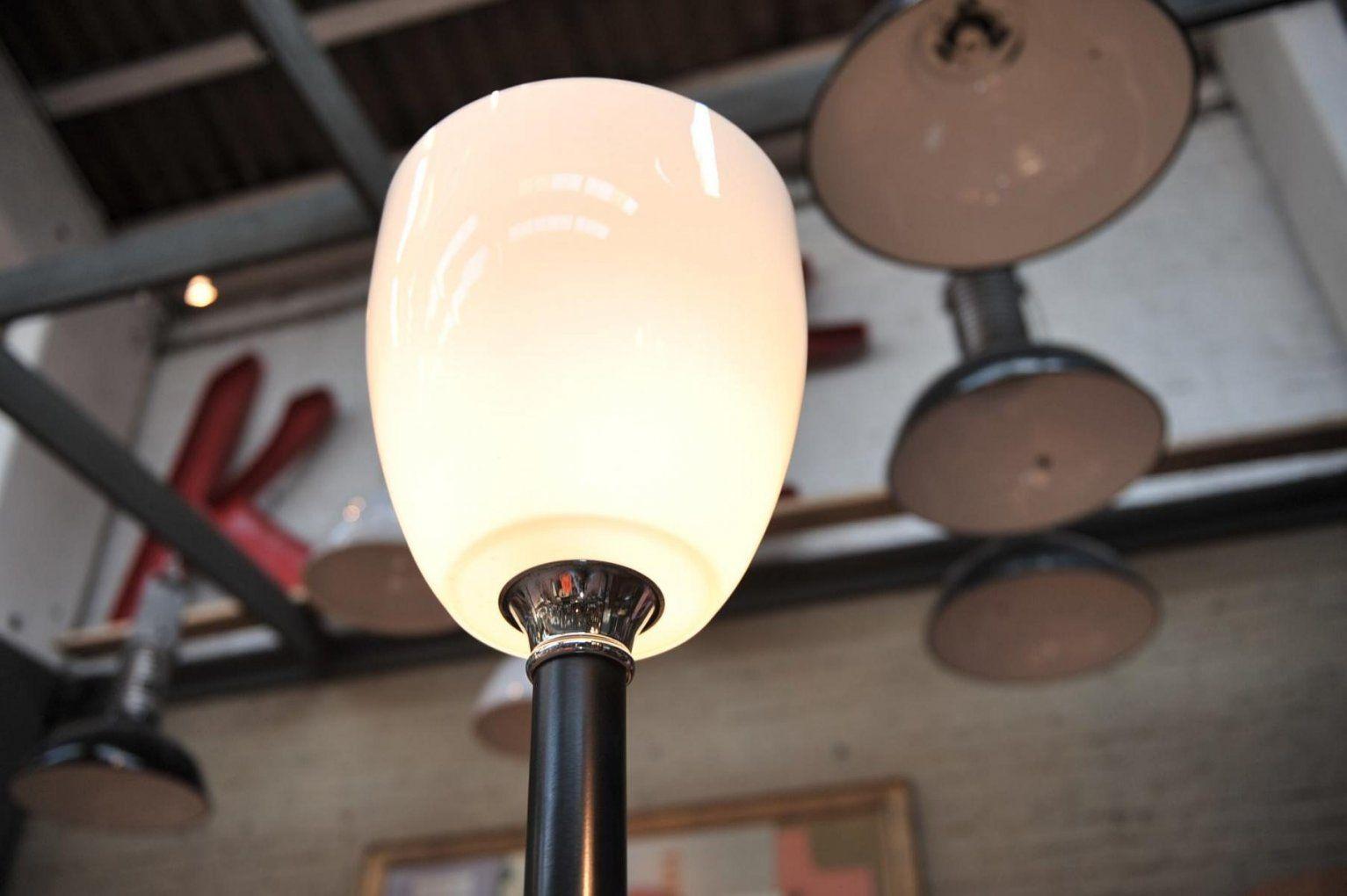 Glas Lampenschirm Schaffen Schones Ambiente Lampenschirm Stehlampe von Glas Lampenschirm Für Stehlampe Bild
