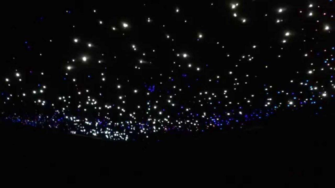 Glasfaser Sternenhimmel Mit Sternschnuppe  Youtube von Sternenhimmel Selber Bauen Glasfaser Photo
