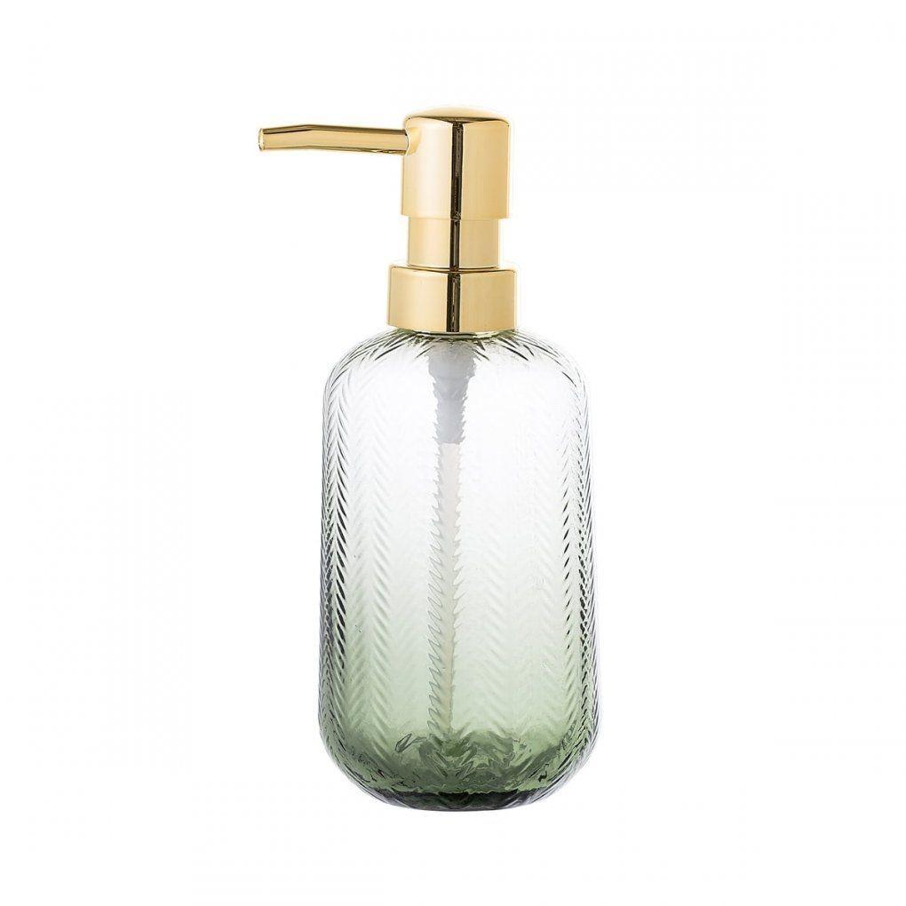 Glasseifenspender Von Bloomingville  Connox von Badezimmer Accessoires Grün Bild