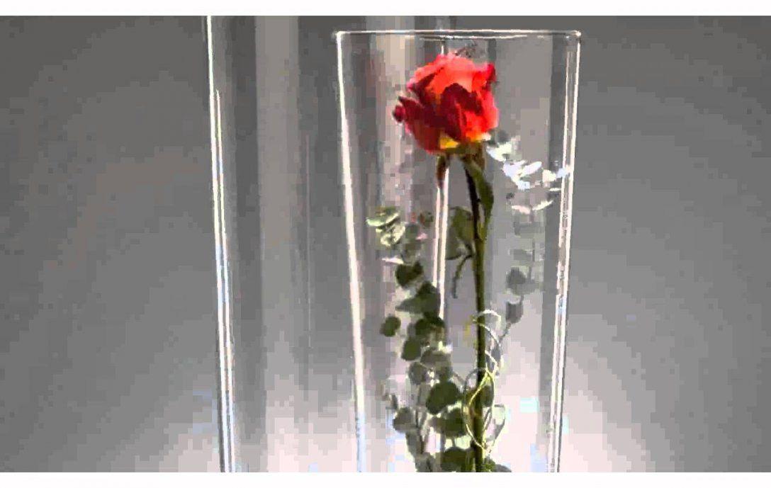 Glasvase Mit Deko  Schöne  Youtube von Dekoideen Für Große Glasvase Bild