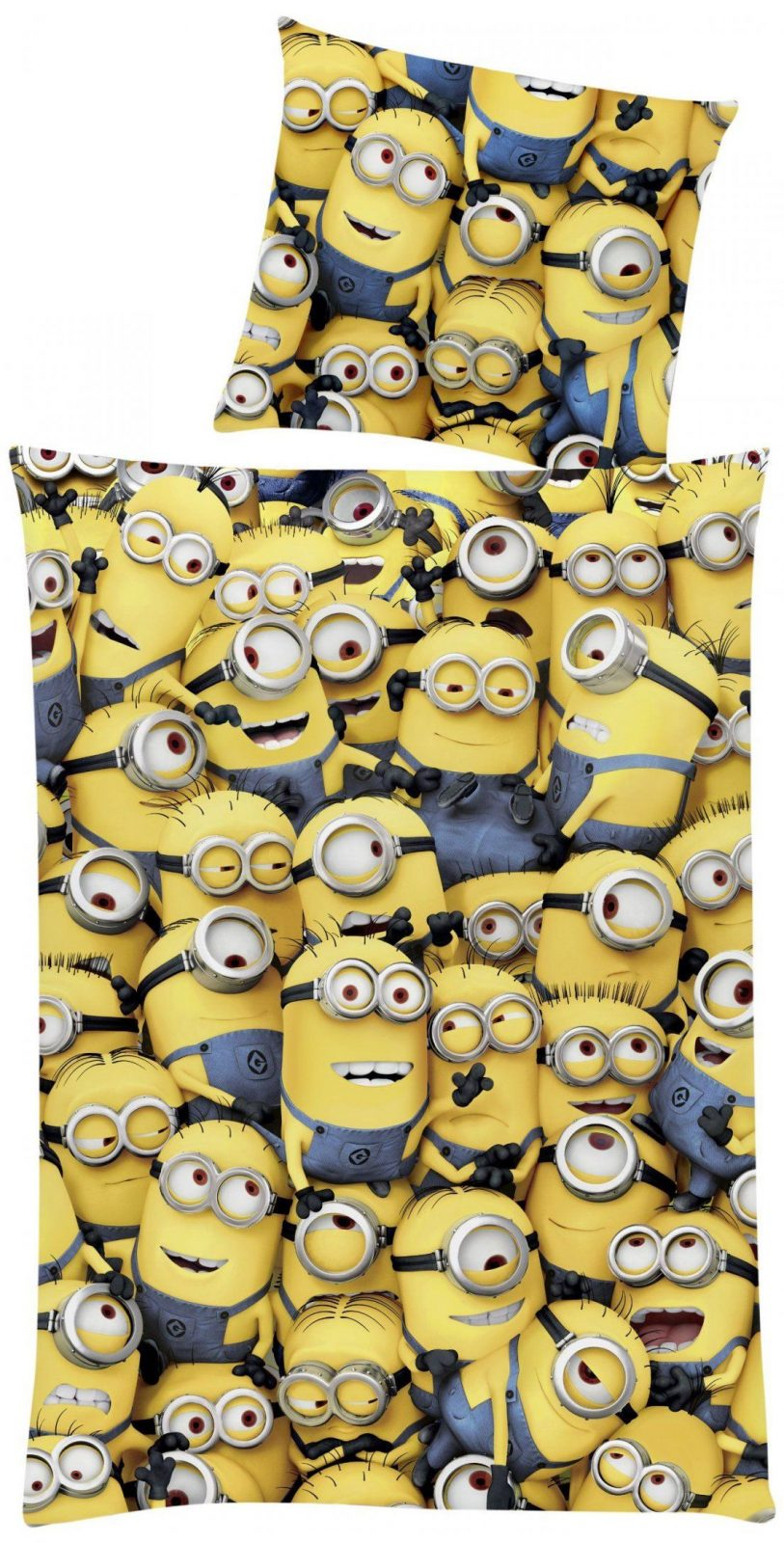 "Global Labels G 95 600 Mi1 180 Minions ""crowd"" Bettwäsche Renforce von Minion Bettwäsche Real Bild"