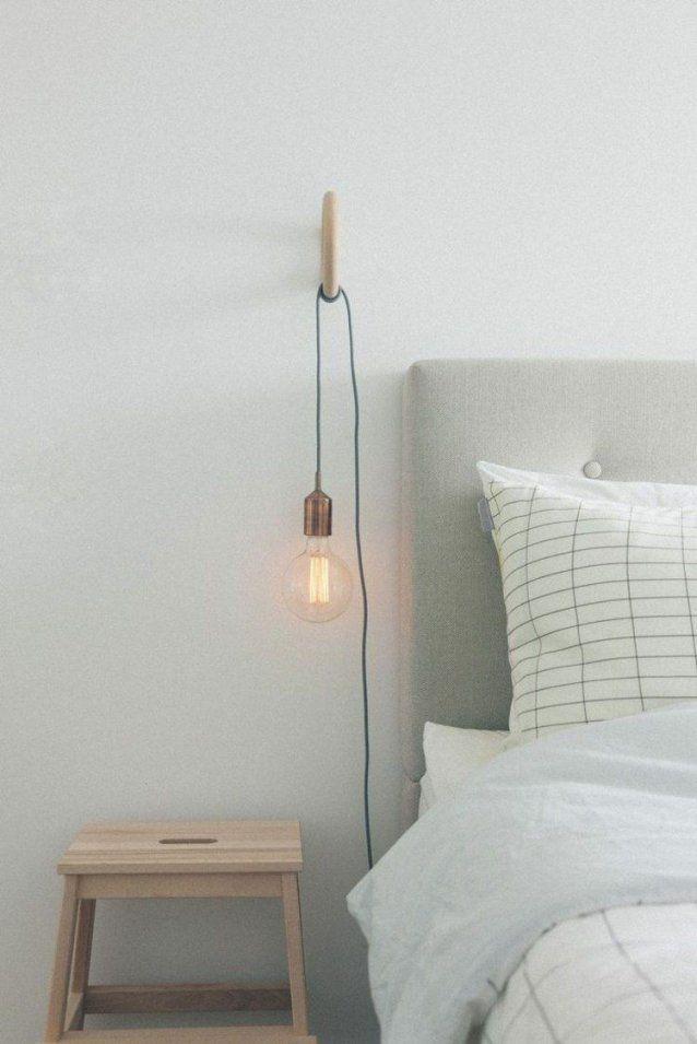 Glühbirnen Statt Nachttischleuchten  Deco  Pinterest  Glühbirnen von Glühbirne Lampe Selber Machen Bild