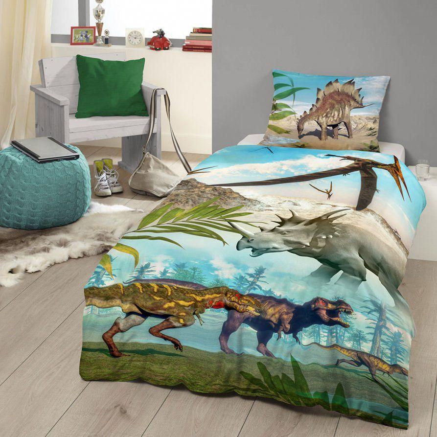 Good Morning Bettwäsche Dinos Günstig Online Kaufen Bei Bettwaren Shop von Dino Bettwäsche 135 X 200 Photo