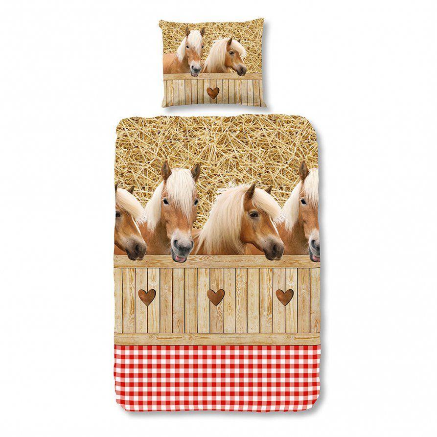 Good Morning Bettwäsche Pferde Günstig Online Kaufen Bei Bettwaren Shop von Herding Bettwäsche Pferd Bild