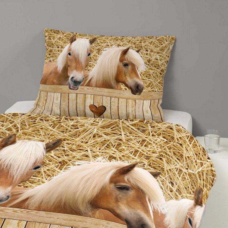 Good Morning Bettwäsche Pferde Günstig Online Kaufen Bei Bettwaren Shop von Pferde Bettwäsche Kinder Bild