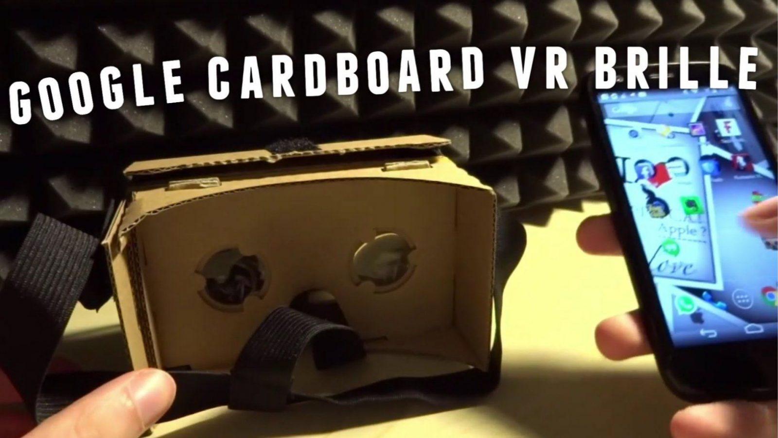 Google Cardboard Vr Brille Selber Bauen  Virtual Reality Zum von Fpv Brille Selber Bauen Photo