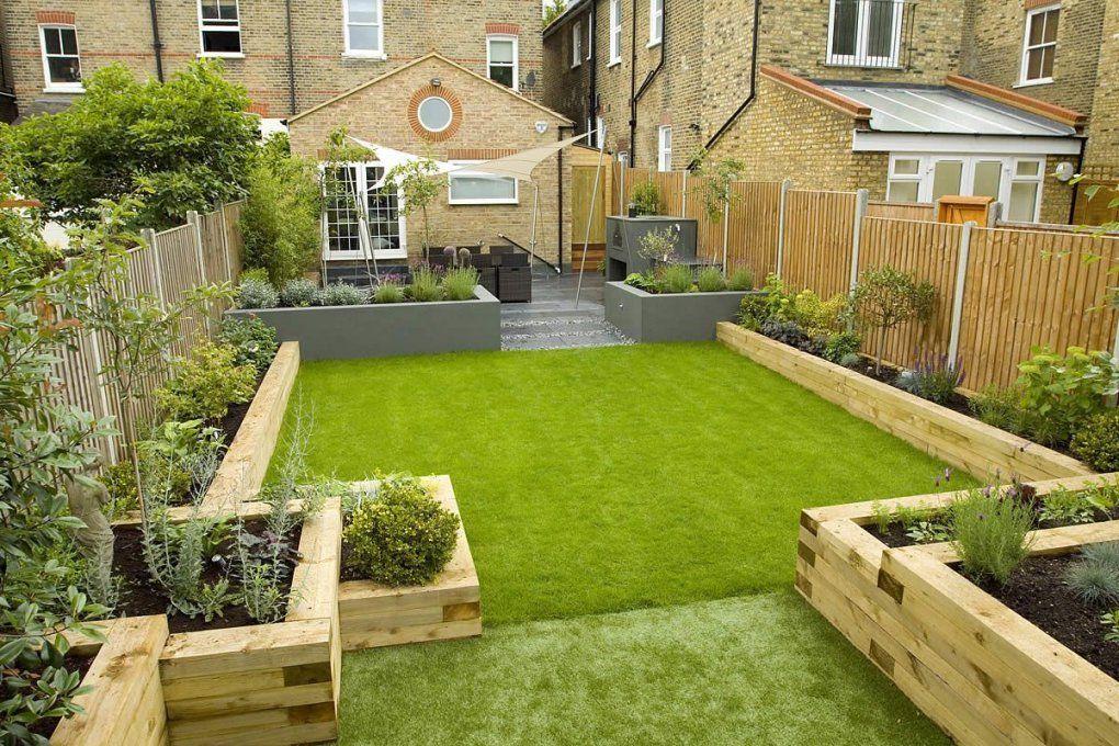 Gorgeous Use Of Timber  Gardens☀ ❄ ✂️flowersshrubs von Kleine Gärten Gestalten Praktische Lösungen Bild