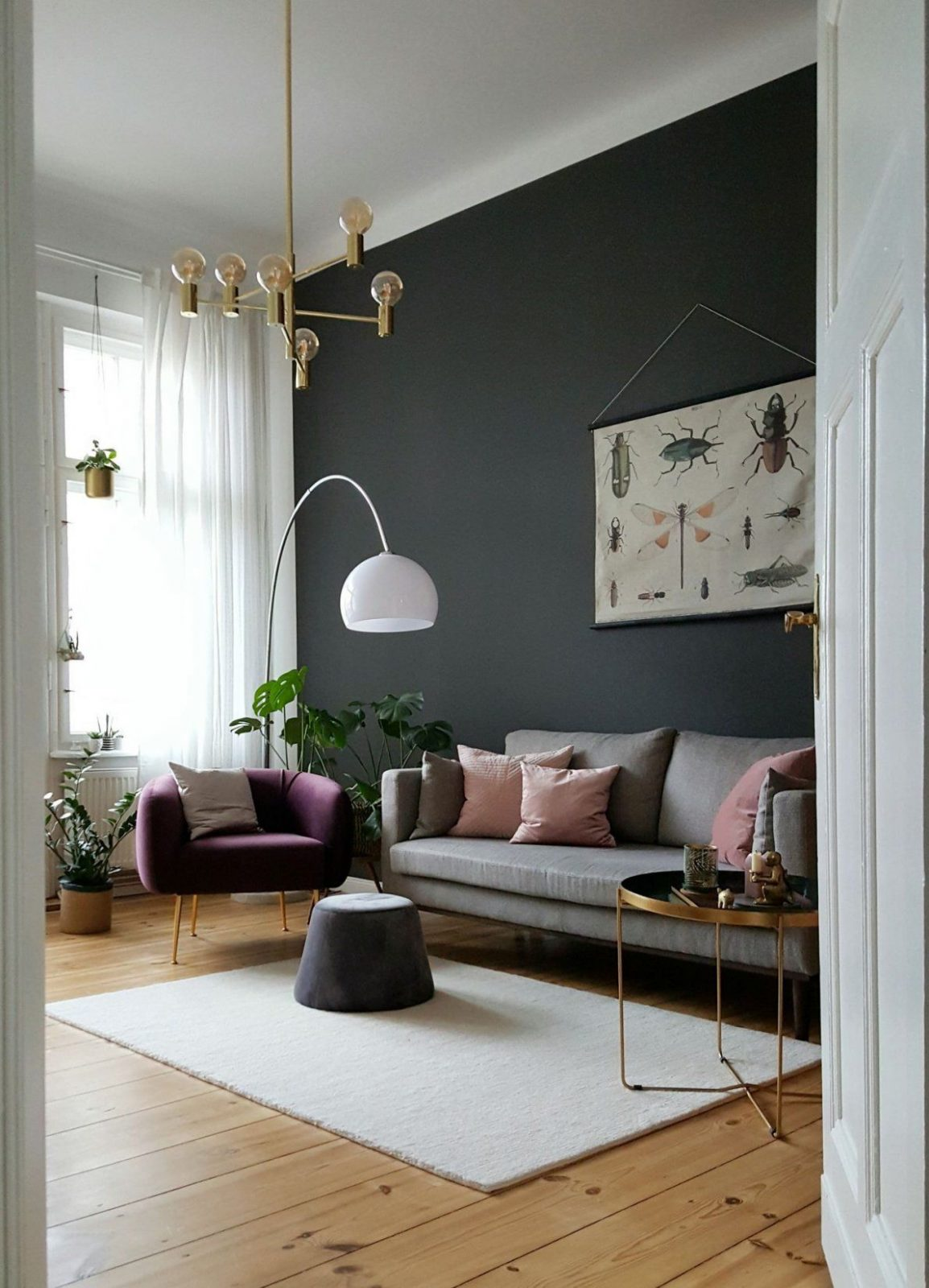trend graue mbel welche wandfarbe gute inspiration passt zu grauen von welche wandfarbe passt zu. Black Bedroom Furniture Sets. Home Design Ideas