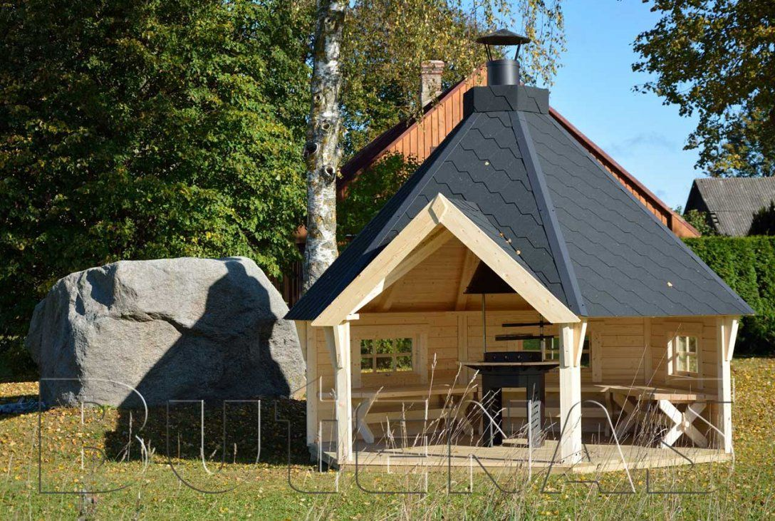 Grillhütten  Exklusive Auswahl An Grillpavillons von Grillhütte Selber Bauen Anleitung Bild