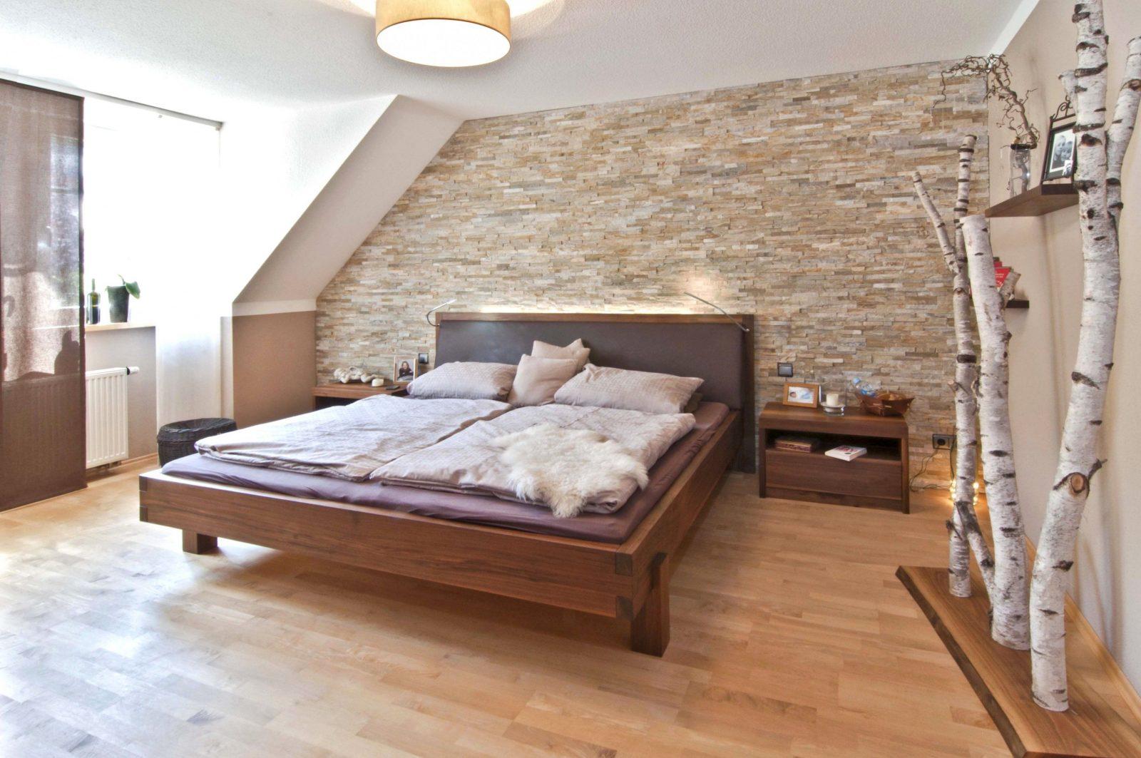 Groß Großartig Ideen Attraktive Wandgestaltung Hinter Bett Fotos Die von Bett Ideen Selber Bauen Bild