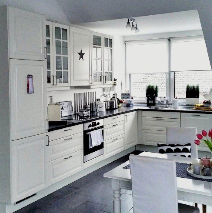 Groß Küche Landhausstil Weiß Trend Einbaukuchen Weiss Der Ikea von Küche Landhausstil Weiß Ikea Photo