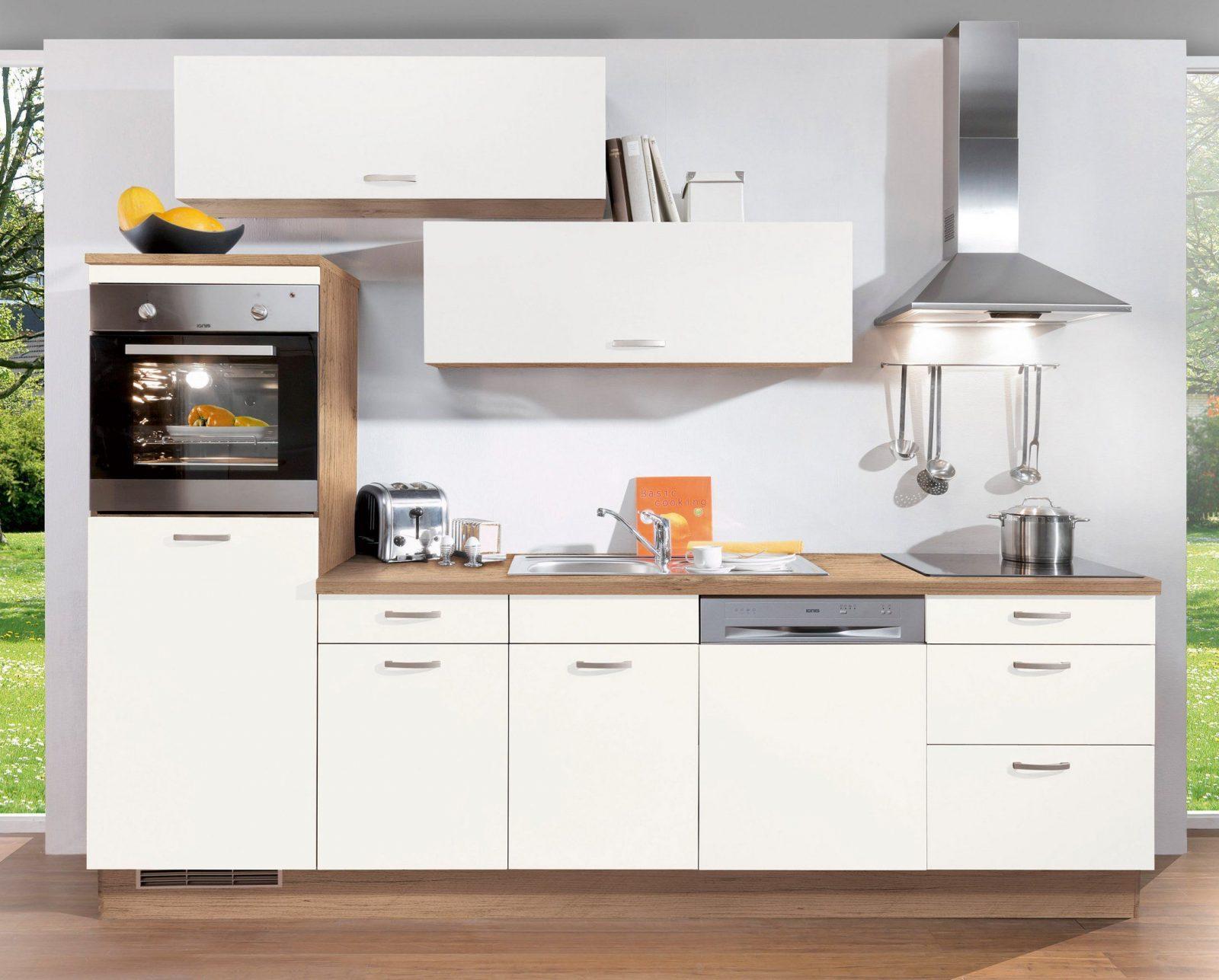 Küchenzeile 280 Cm Mit Elektrogeräten Günstig | Haus Design Ideen